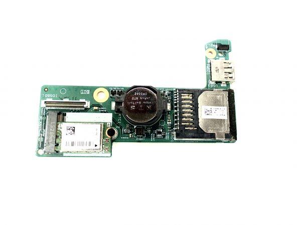 USB Board Platine Karte Notebook Buchse für Dell Inspiron 13 7000 13853-1 X2NJ - gebraucht Artikel -