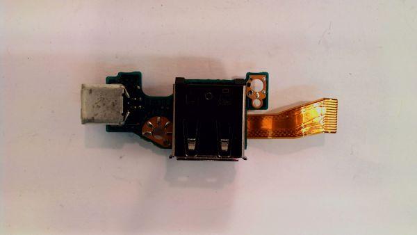 USB Board Platine Karte Notebook Buchse für Sony PCG-4F1M 1-867 856-11 - gebraucht Artikel -