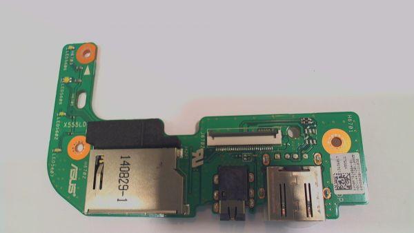 USB Board Platine Karte Notebook Buchse für Asus R556L 69n0r7b10b04-01 - gebraucht Artikel -