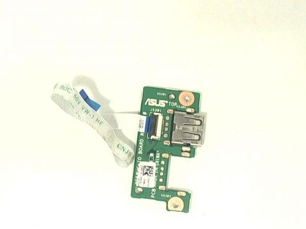USB Board Platine Karte Notebook Buchse für Asus P550LDV-XO515G - gebraucht Artikel -