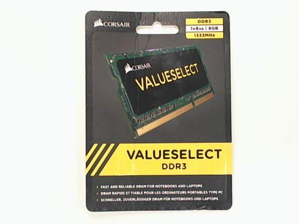 8GB Corsair SO-DIMM DDR3 1333MHz 1.5V Speicher CMSO8GX3M1A1333C9