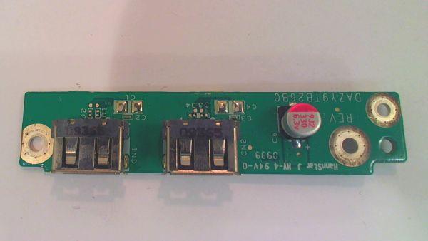 USB Board Platine Karte Notebook Buchse für Acer Aspire 8940G DAZY9TB26B0 - gebraucht Artikel -