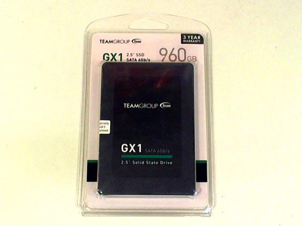 "Team GX1 960GB SSD 6,4cm (2,5"") SATA T253X1960G0C101"