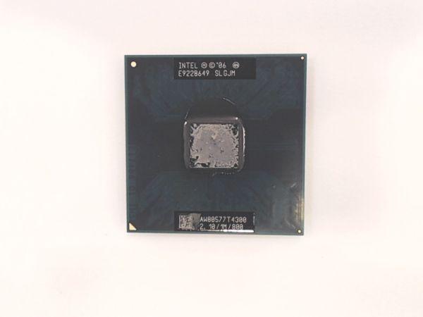 CPU für Notebook Intel Pentium Duo Mobile T4300 SLGJM Prozessor