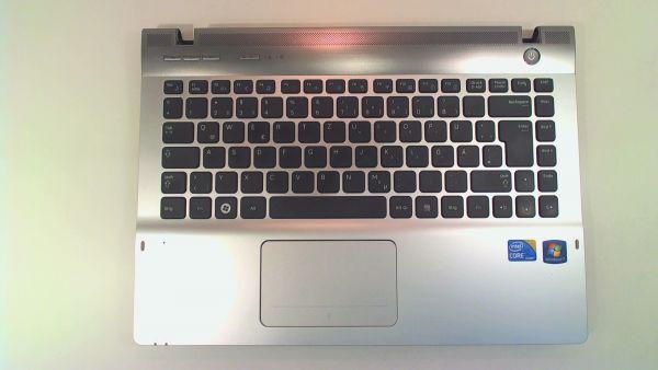 Tastatur für Samsung QX310 Notebook Keyboard inkl. Topcase DE (deutsch) BA75-02717A