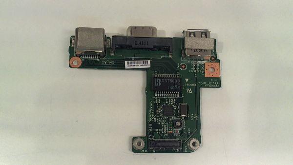 USB Board Platine Karte Notebook Buchse für MSI VR61 MS-16GDA - gebraucht Artikel -