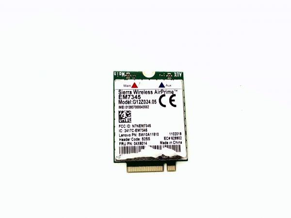 Wireless Adapter Notebook WLAN Modul für Lenovo Thinkpad Yoga 15 Sierra Wireless SW10A11510