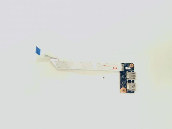 USB Board Platine Karte Notebook Buchse für HP Compaq 15-R273NG