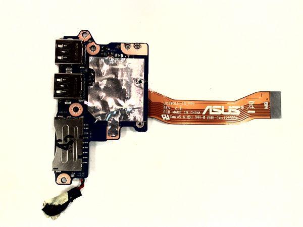USB Board Platine Karte Notebook Buchse für Asus ZenBook UX303L - gebraucht Artikel -