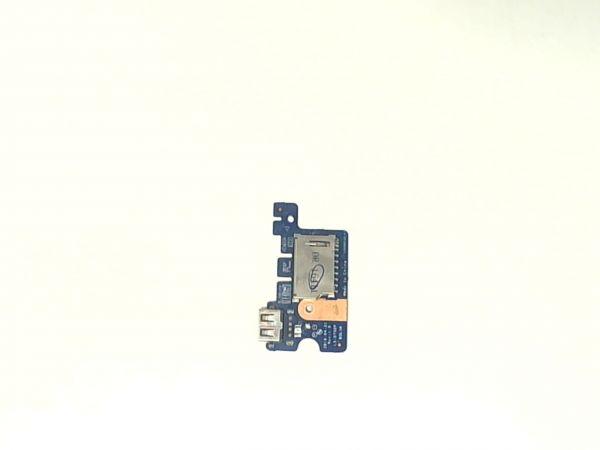 USB Board Platine Karte Notebook Buchse für HP 15-ba077ng LS-D702P - gebraucht Artikel -
