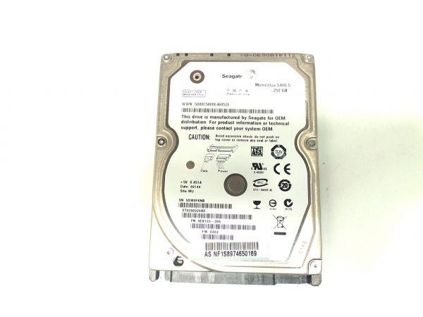 Notebook Festplatte Seagate ST9250320AS 250GB, 6.35 cm (2,5 Zoll)