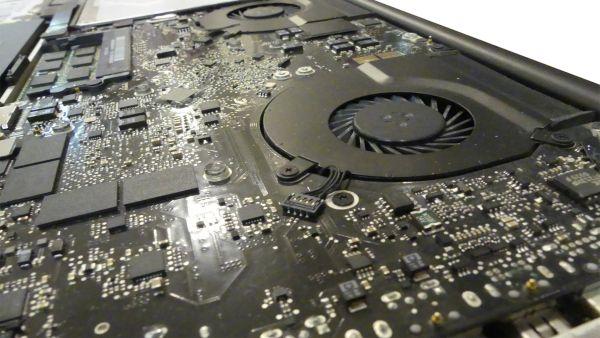 MacBook Lüfter Wechsel