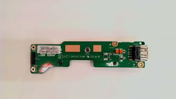 USB Board Platine Karte Notebook Buchse für Asus X72DR 60.NZWUS1000.C01 - gebraucht Artikel -