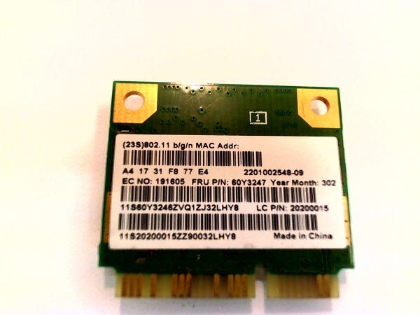 Wireless Adapter Notebook WLAN Modul Lenovo Thinkpad T430u 60Y3247