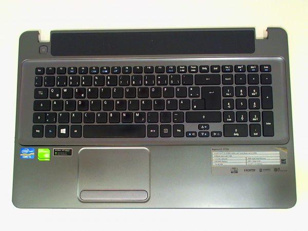 Tastatur für Acer Aspire E1 series Notebook Keyboard inkl. Topcase DE (deutsch)