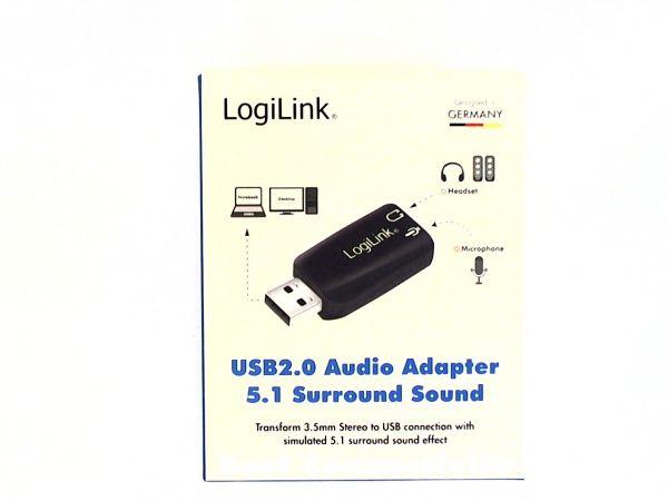 Audio Adapter LogiLink USB 2.0 5.1 Sound Karte