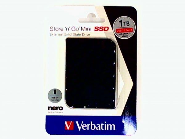 "1TB SSD extern USB 3.0 Festplatte Verbatim 6,35cm(2,5"")"