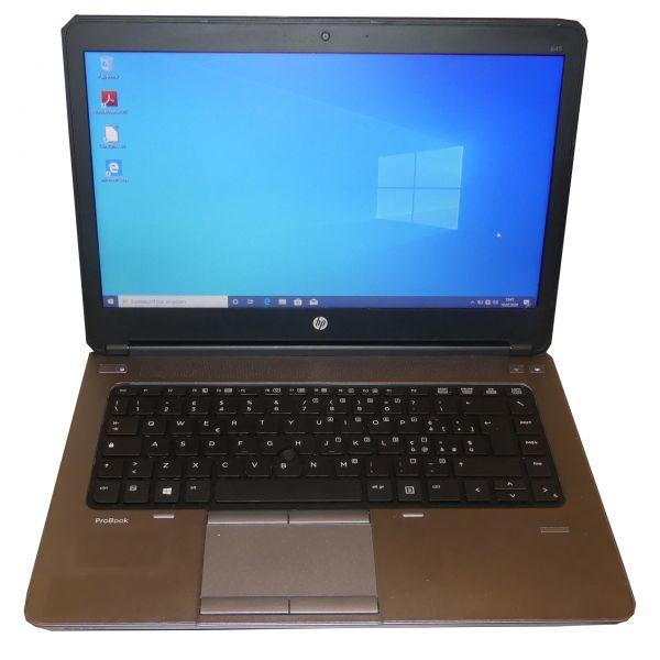 "HP ProBook 645 G1 Notebook AMD A6-5350M 14"" 256GB 8GB Win 10 Pro gebraucht"