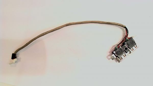 USB Board Platine Karte Notebook Buchse für HP Compaq 6735s - gebraucht Artikel -