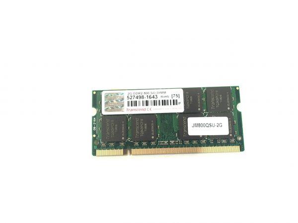 2048 MB 2GB Transcend DDR2, 800 MHz, SO-DIMM, TQ243PCF8