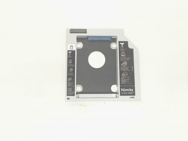 Notebook Festplatten Rahmen für Notebook ohne Blende für Laufwerksschacht HDD Caddy