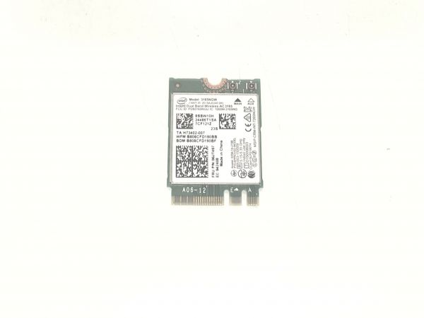 Wireless Adapter Notebook WLAN Modul für Lenovo IdeaPad 120S-11IAP Intel 3165NGW