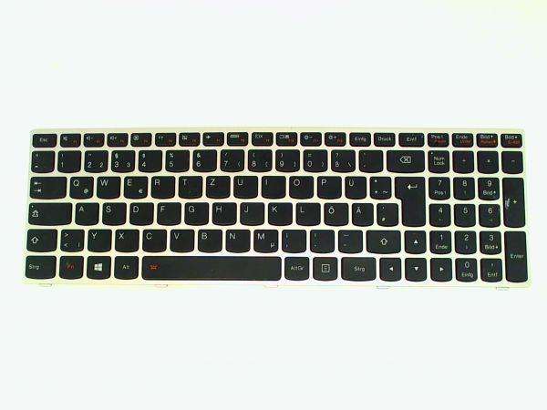 Tastatur für Lenovo Z51-70 5N20H03414 Notebook Keyboard schwarz-weiß