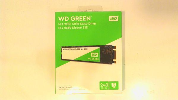 Western Digital WD Green SSD 240GB M.2 2280 SSD WDS240G2G0B