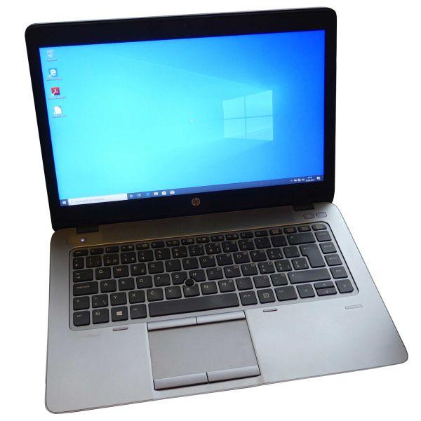 "HP EliteBook 745 G2 Notebook AMD A8 PRO-7150B R5 4x 1.90GHz 14"" 8GB 128GB Win 10 Pro gebraucht"