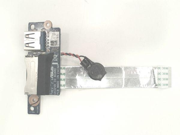 USB Board Platine Karte Notebook Buchse für Asus ZenBook UX32V - gebraucht Artikel -