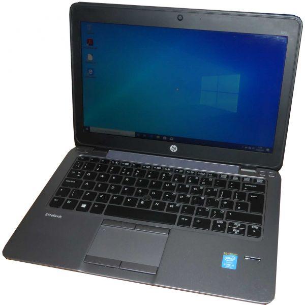 "HP EliteBook 820 G2 Notebook Intel Core i5-5300U 12,5"" 180GB 8GB Win 10 Pro gebraucht"
