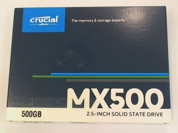 Crucial MX500 500GB 6,4cm (2,5) SATA III SSD