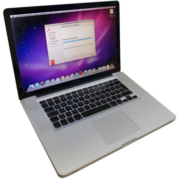 Installation je Programm für MacBook