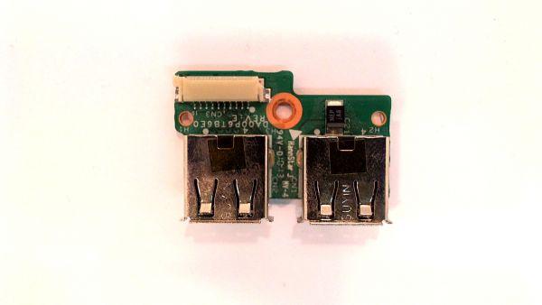 USB Board Platine Karte Notebook Buchse für HP Compaq Presario CQ61 340P6UB0000– gebraucht Artikel -