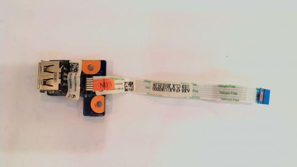 USB Board Platine Karte Notebook Buchse für HP G62-120EG daoax1tb6eo - gebraucht Artikel -