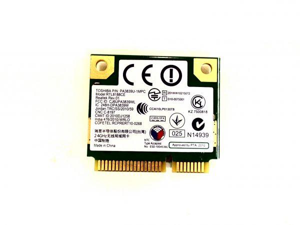 Wireless Adapter Notebook WLAN Modul Toshiba Satellite C850-1CE PA3839U-1MPC
