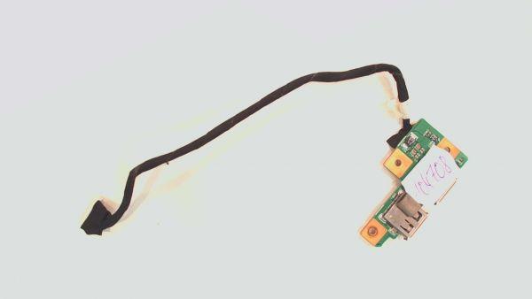 USB Board Platine Karte Notebook Buchse für Medion MD 97860 P7612 55.4DN02.001G -gebraucht Artikel -