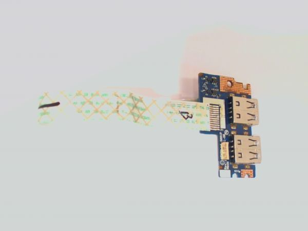 USB Board Platine Karte Notebook Buchse für Acer Aspire 5551G LS-5891P - gebraucht Artikel -