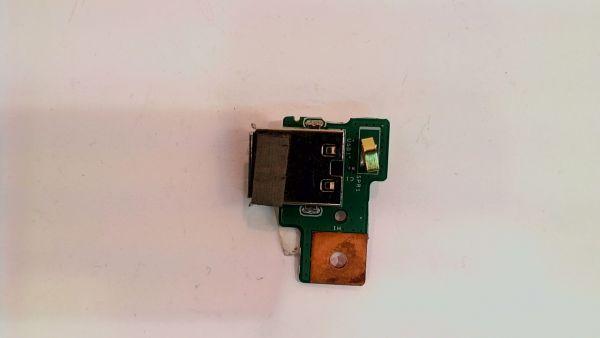 USB Board Platine Karte Notebook Buchse für Medion MD 98162 48.4JY04.011 - gebraucht Artikel -