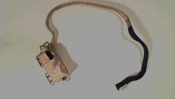 USB Board Platine Karte Notebook Buchse für Asus X5DAF - gebraucht Artikel -