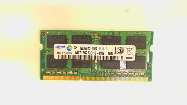 4GB Samsung SO-DIMM DDR3/1333MHz 1.50V Speicher M471B5273DH0-CH9