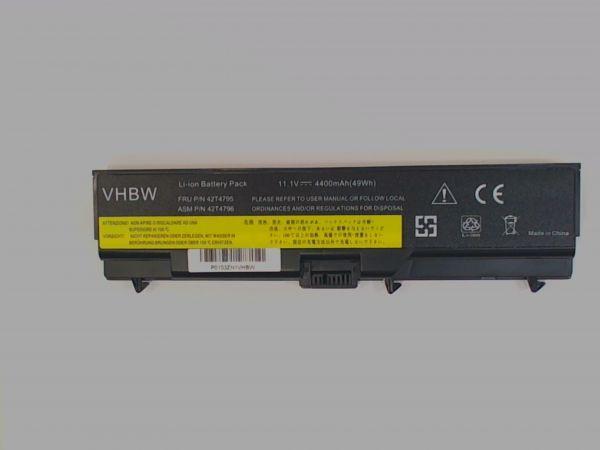 AKKU für IBM Lenovo Thinkpad T430, T530, W520 u.a. 4400mAh