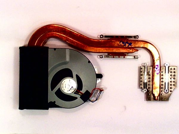 CPU Kühler für Asus N56J 13NB03Z1AM0501 Notebook Lüfter FAN