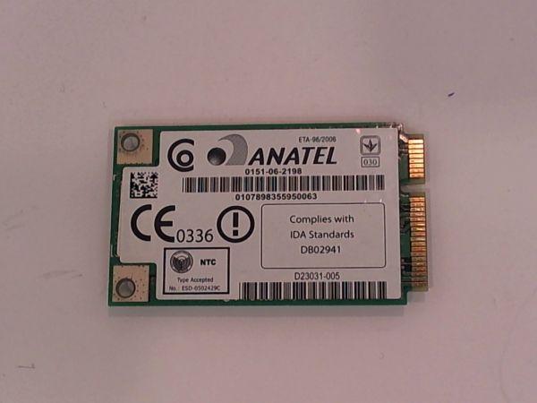 Wireless Adapter Notebook WLAN Modul für Sony Vaio VGN-AR41S Intel WM3945ABG - gebraucht Artikel -