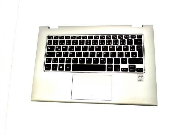 Tastatur für DELL Inspiron 13 7000 7348 Keyboard inkl. Topcase DE (deutsch)
