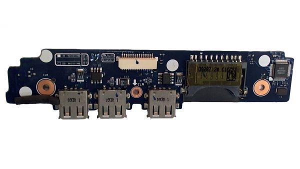 USB Board Platine Karte Notebook Buchse für Samsung NP-X520 BA92-05732A - gebraucht Artikel -