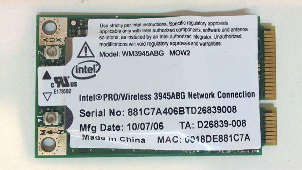 Wireless Adapter Notebook WLAN Modul für Samsung NP-X11 WM3945ABG MOW2 - gebraucht Artikel -