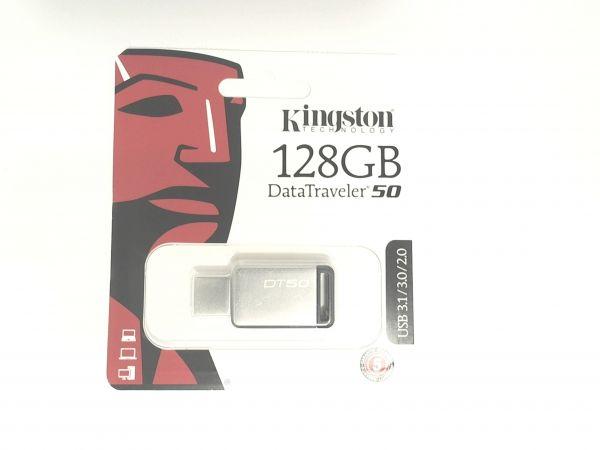 USB Stick 3.0 Kingston 128GB USB 3.0 DT-50 Black