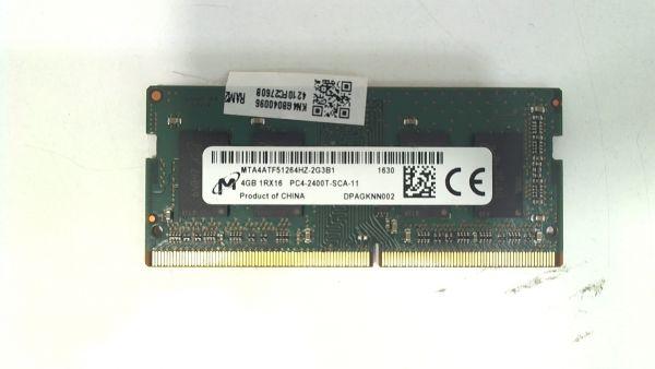 4GB Micron SO-DIMM DDR4/1600MHz Speicher MTA4ATF51264HZ-2G3B1