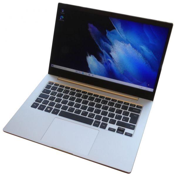 Samsung Galaxy Book Go Silver Qualcomm Snapdragon 7c Gen2, 2x 2.5 4GB 128GB Windows 10 Notebook neu